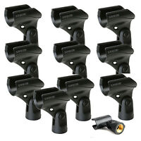 "Shure A25D Microphone Clip for SM58 SM57 & Other 3/4"" 10-Pack Authorized Dealer"