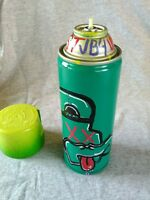 BUZZED by Artist JB4 Special Edition Spray Can Paint Urban Art Green Design