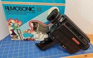 Vintage Bell & Howell 1230 Filmosonic XL Super 8 Movie Camera