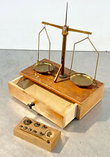 New listing vtg apothecary scale balance Eimer & Amend made in germany & usa weight set