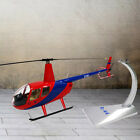 1:32 R44 Helicopter Alloy Army Model Airplane & Dispaly Stand Room Ornaments