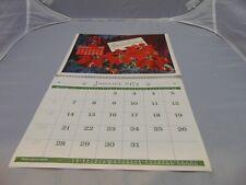 1974 Calendar International Model & speed Trucks Calendar all 12 months HS-54
