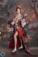 """SUPER DUCK 1/6 SET052 Geisha Beauty Clothes Set w /Head Sculpt Fit 12"""" PH Body"""