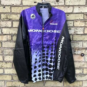 Mongoose Factory Team Racing Castelli Men's XL Thin Cycling Jacket NOS