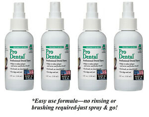 4-Top Performance DENTAL SPRAY DOG CAT PET*Clean TEETH, Mouth-REDUCE ODOR,TARTER