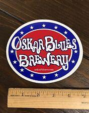 OSKAR BLUES BREWING BREWERY BEER STICKER Colorado Oscar Dales Pale Ale IPA
