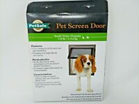 PetSafe Pet Dog Cat Screen Door Small 1-30 lb Easy Install Opening 8X9-1/4, New