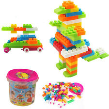 Baby Smart IQ Educational Toy Multicolor Assembled Creative Building Block Hot