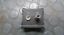 MOTORHOME & CARAVAN/ MARINE TV / SATELLITE SOCKET GREY CBE 270412