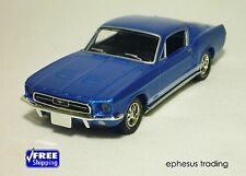 Matchbox Collectibles DINKY 40th 1967 FORD Mustang GT Fastback V8 Blue 1/43 MINT
