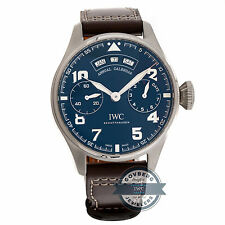 IWC Big Pilot Calendar Edition Le Petit Prince IW5027-03 Auto Gold Mens Watch