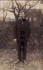 WW1 Soldier T A Rees POW Prisoner of War Minden Germany from Abercynon