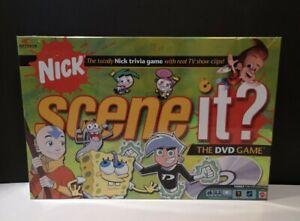 Nick Scene It Trivia DVD Board Game Nickelodeon Edition Complete