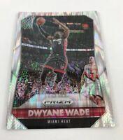 2015 Prizm #64 Dwyane Wade - Refractor Silver Flash Prizm Super Hot Miami Heat