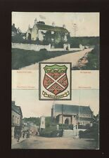 Gloucester Glos NAILSWORTH Heradic bi-view PPC 1906 mailed from fine postmark