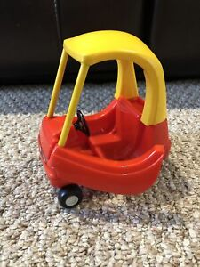 Little Tikes Cozy Coupe Miniature Vintage Red and Yellow Mini Car