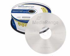 25 MediaRange Branded Blank CD R discs 48x 100 min 900MB 100 minutes CD-R MR222