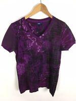 CECIL T-Shirt, mehrfarbig lila, Größe L