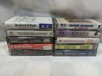 (10 Cassette Lot) Schuur Sibelius Floren Sound of Music Against All Odds Dirty