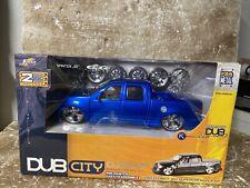Jada Toys DUB CITY Dubshop 1:24 scale 2003 FORD F-150 SUPERCREW PICK UP BLUE