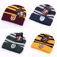 Harry Potter Gryffindor/Slytherin/Hufflepuff/Ravenclaw Mütze Winter Hut Kostüm