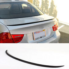 BMW E90 Carbon Fiber 3-Series 4D Saloon Boot Lip Spoiler Wing 2005-11 UK SELLER