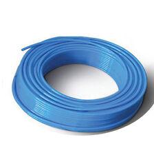 Polyurethane Tube PU Pneumatic Air Hose 6 mm X 4 mm - 10 Meter Color: Blue