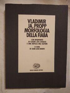 MORFOLOGIA DELLA FIABA di Vladimir Propp - Einaudi editore 1966 libro usato