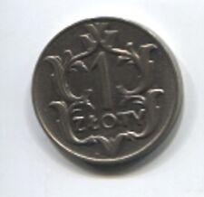 Polen 1 Zloty 1929 top erhalten (S-009)