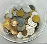 Lot Of 65 Mixed Old Israel Coins Israeli Coin Private Collection