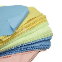 100 X Microfaser Brillen Linse Putztücher Tuch Reinigungstuch Putzlappe Mu TMQ