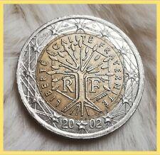 2 Euro Münze⚡__(Fehlprägung!)__ ⚡Frankreich 2002