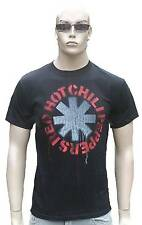 Rare Unworn Official RED HOT CHILI PEPPERS Asterisk Logo Rock Vintage T-Shirt S