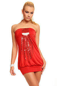 Womens Sequin Embellished Party Sexy Bodycon Club Mini Dress size 8 10