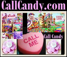 Call Candy .com Sweet Blast Off Mouth Flavors Toy Starburst Sweets Space URL