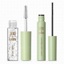 Pixi + aspynovard eye accents precision mascara & clear brow gel new in box