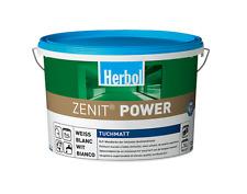 Herbol Zenit Power weiss tuchmatt 12,5 Liter - diffusionsfähig, lösemittelfrei -