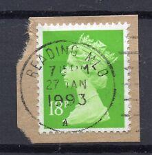 GB = QE2 Postmark - `READING MLO / (A)` 1993 Single Ring cancel (wa)