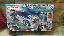 Meccano Turbo Remote Contol Rally Car 352 Pieces 2 models Consrtuction Toy Tools