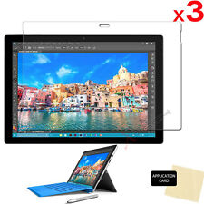 3x CLEAR LCD Screen Protector Guard Covers Guards for Microsoft Surface Pro 4
