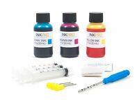 InkPro Premium Tri-Color Ink Refill Kit for Canon CL-246/246XL 30ml/1oz