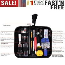 Opener Link Spring Bar Remover Watchmaker 1-147Pcs Watch Repair Tool Kit Case