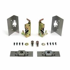 Large Locking Cat Jaw Claw Door Latches w/ Installation Kit Bear Type Grip Latch
