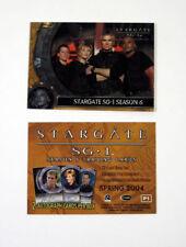 "2004 RITTENHOUSE ""STARGATE -SG1"" SEASON 6  SERIES PROMO CARD [P1] - as NEW Cond"