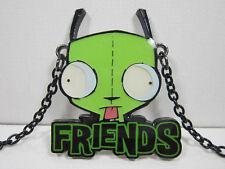 Invader Zim Gir Friends Necklace Pendant Charm Nickelodeon Alien Robot Dog