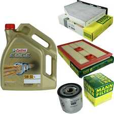 Inspection Kit Filter Castrol 5L Oil 5W30 for Audi Q3 8U 1.4 TFSI 1.2 TSI 16V