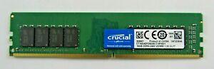 Crucial Micron 16GB DDR4-2400 UDIMM CT16G4DFD824A.C16FAD1 SERVER MEMORY