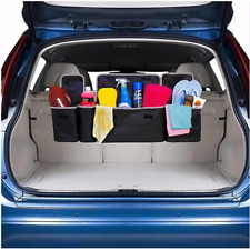 2in1 Car Trunk Oxford Cloth Multi-use Organizer Backseat Storage Bag Accessories