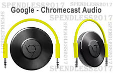 Google Chromecast Audio - Black - (GA3A00147-A14-Z01) BRAND NEW SEALED