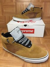 RARE🔥 VANS x Supreme x MC Mike Carroll Camel Tan Mesh Reflective 3M Tongue S 13